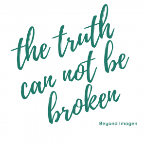 Truth cannot be broken