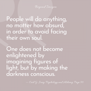 People will do anything - Carl Jung Quote