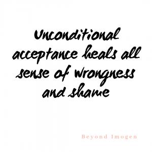Unconditional acceptance